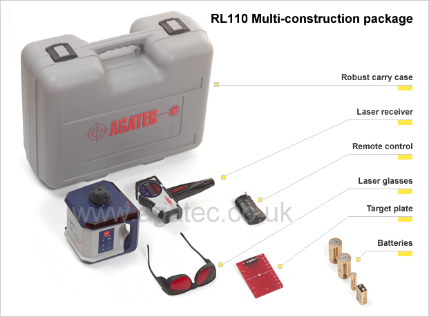 Agatec Rl110 Rotary Laser Level Innovative Tools For